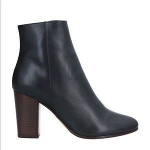 New Maje Women's Ankle leather boots Shoe Black 40